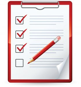 Countertop Template Checklist