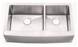 15 Gauge 60/40 Sink With Bowed Apron