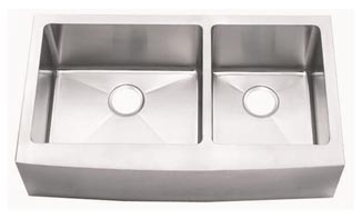 15 Gauge 60/40 Sink With Bowed Apron