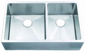 15 Gauge 60/40 Sink With Flat Apron