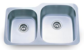40 60 16 Gauge Stainless Under Mount Sink