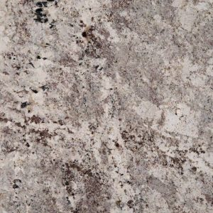 Alaska White Granite countertop at Edge Stoneworks