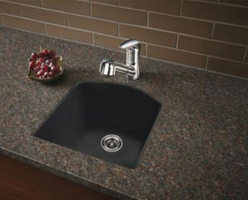 Blanco Diamond Bar Sink at Edge Stoneworks