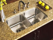 Stainless Steel Sinks at Edge Stoneworks