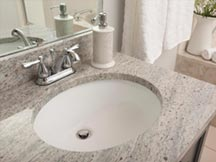 Vitreous China Vanity Sinks at Edge Stoneworks