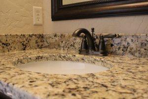 Granite Undermount Sink at Edge Stoneworks