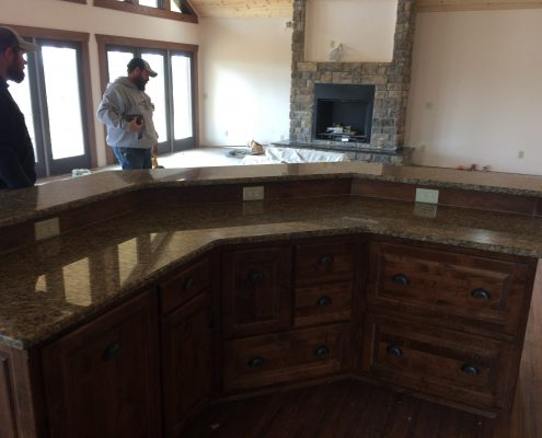 Kitchen Construction by Edge Stoneworks