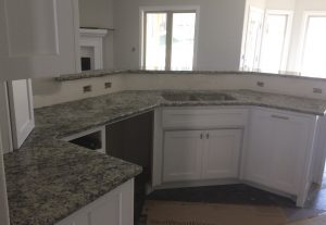 Full size kitchen countertops at Edge Stoneworks
