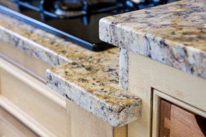 Granite kitchen platform by Edge Stoneworks