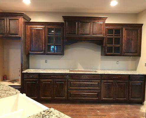 Kitchen Cabinets at Edge Stoneworks