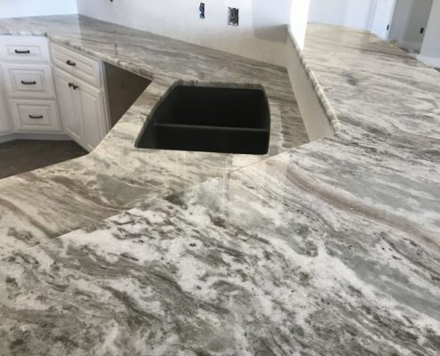 Kitchen Countertops at Edge Stoneworks