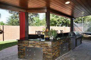 Outdoor granite kitchen uba tubaat Edge Stoneworks